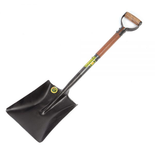 Shovel - Square Mouth (Wood Shaft, Metal Hilt C2-900) | FG00358