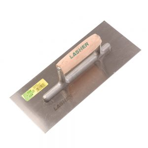 Trowel - Plastering (Double Tang 280mm, Wooden Handle) | FG10080