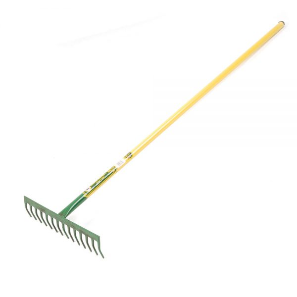 Rake - Deluxe Garden (14 Tooth Heavy Duty, All Steel) | FG00010