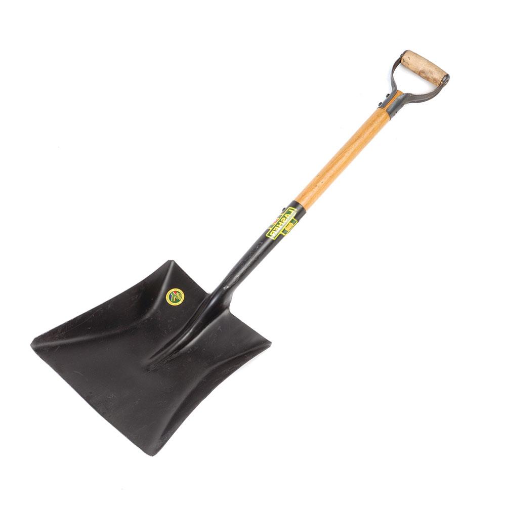 Shovel - Square Mouth (Wood Shaft, Metal Hilt C5) | FG00365
