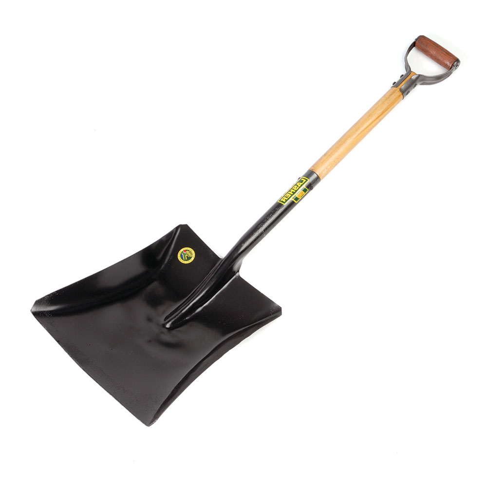 Shovel - Square Mouth (Wood Shaft, Metal Hilt C7) | FG00370