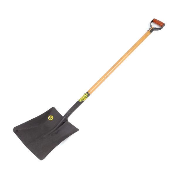 Shovel - Square Mouth (Wood Shaft, Metal Hilt C7-1200) | FG00376