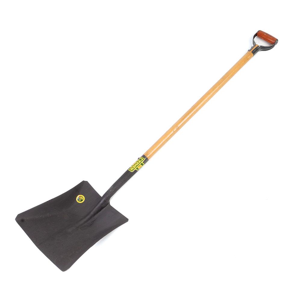 Shovel - Square Mouth (Wood Shaft, Metal Hilt C7-900) | FG00377