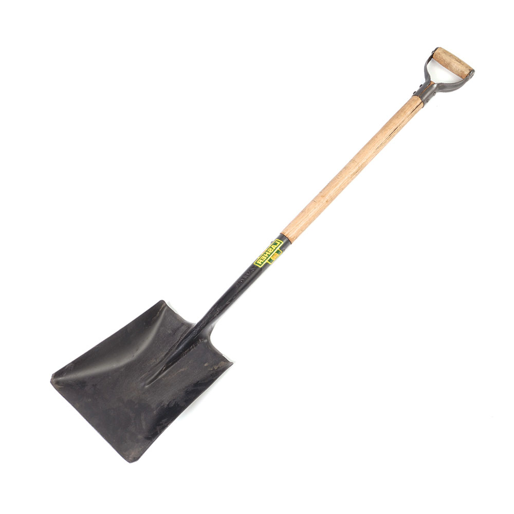 Shovel - Square Mouth (Wood Shaft, Metal Hilt C10) | FG00380